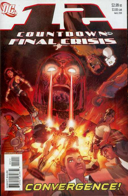 12 COUNTDOWN TO FINAL CRISIS