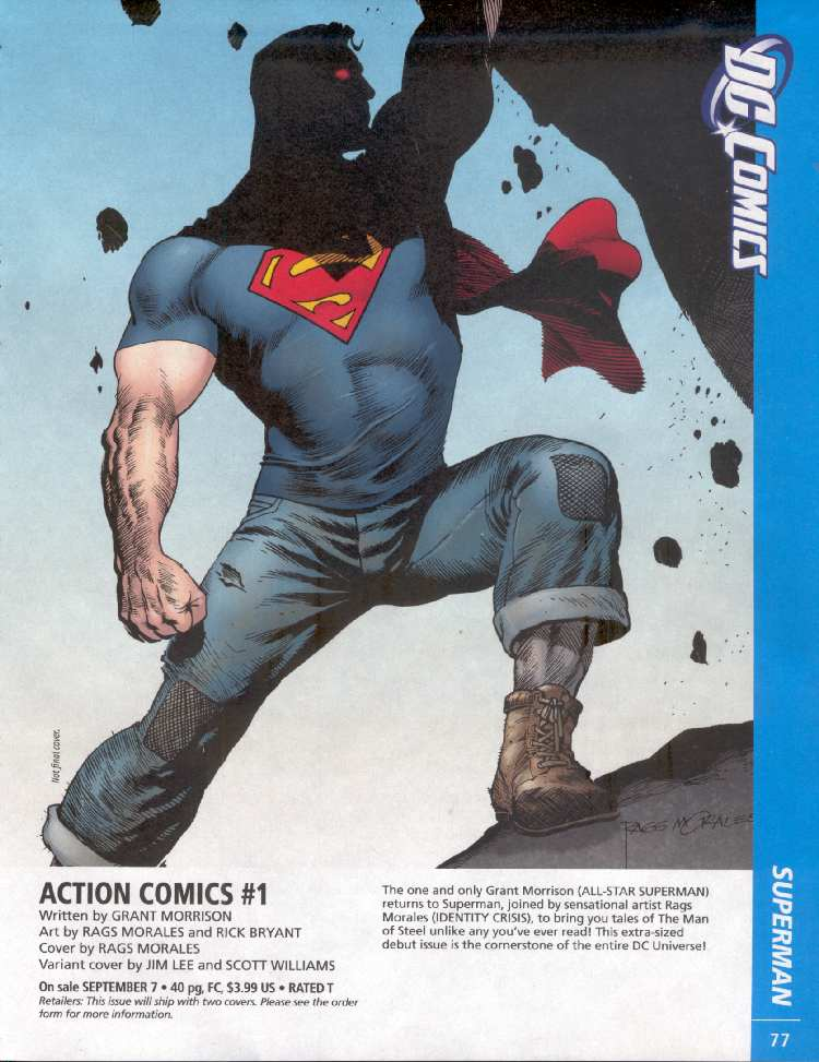 ACTION COMICS #1 (PREVIEWS)