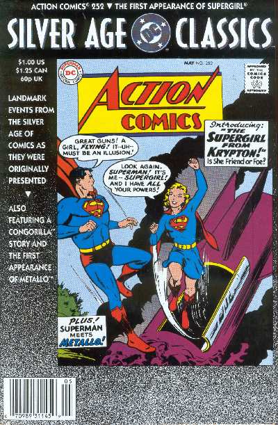 ACTION COMICS #252 SILBER AGE CLASSICS