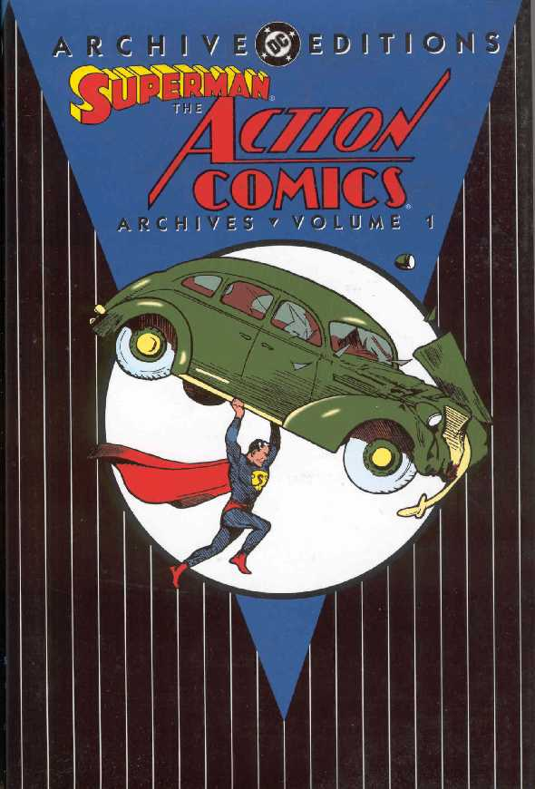 SUPERMAN THE ACTION COMICS ARCHIVES VOL.1