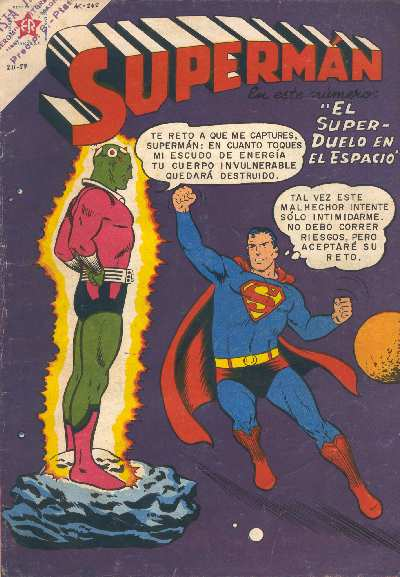 ACTION COMICS #242 VERSION EDITORIAL NOVARO