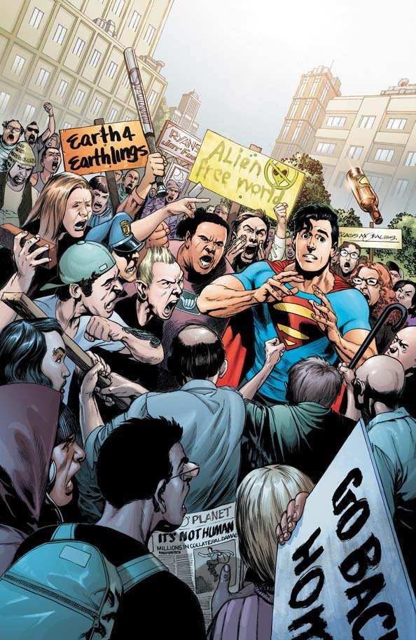 ACTION COMICS #3 COVER ART