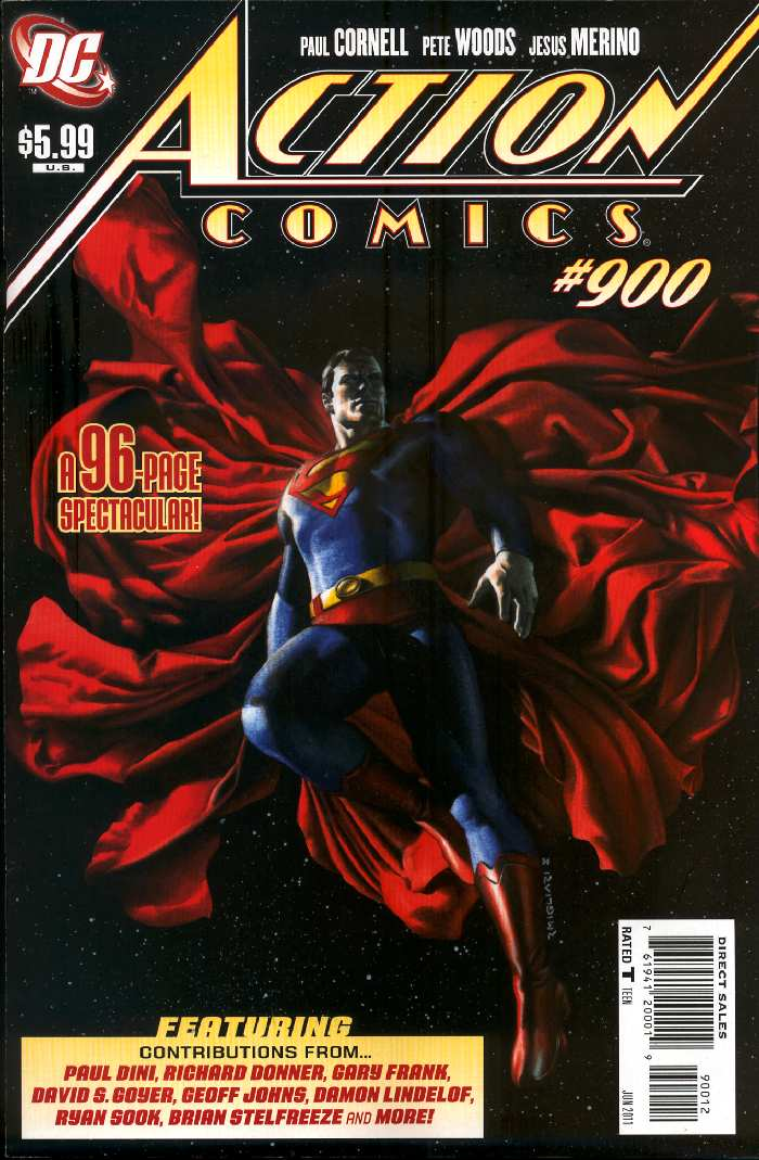 Superman regresa a Action Comics para celebrar su numero 900 - Página 2 Action900alt4
