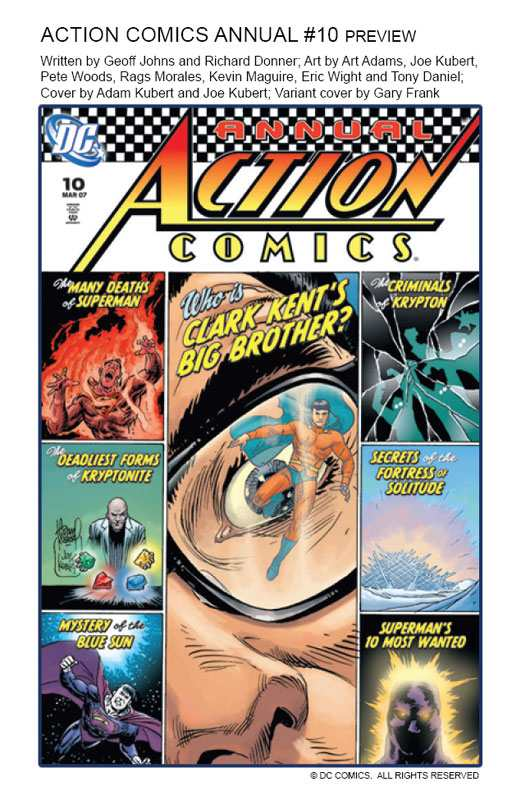 ACTION COMICS ANNAUL 10