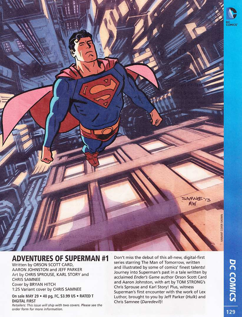 PREVIEWS SUPERMAN