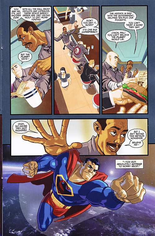 ADVENTURES OF SUPERMAN #4
