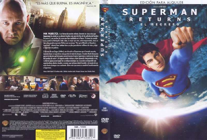 SUPERMAN RETURNS DE ALQUILER