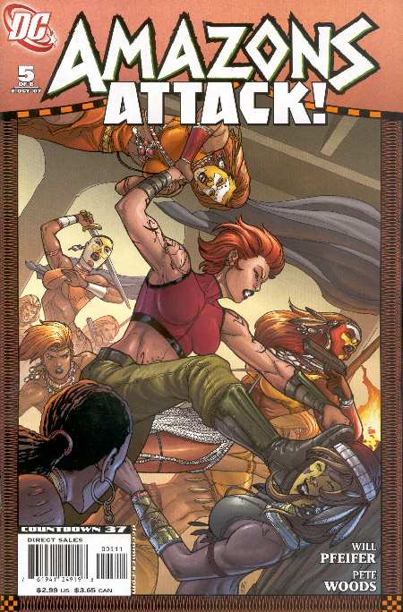 AMAZONS ATTACK 5