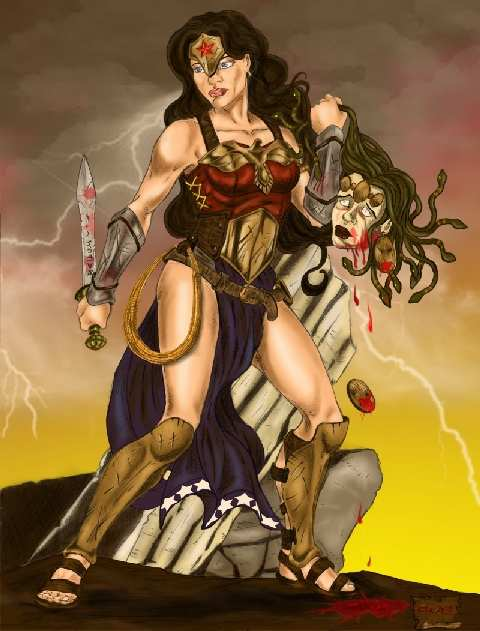 WONDER WOMAN BY ESTEBAN DECKER