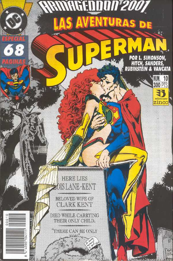 AVENTURAS DE SUPERMAN ANNUAL 1991 VERSION EDICIONES ZINCO