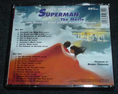 SUPERMAN THE MOVIE BANDA SONORA
