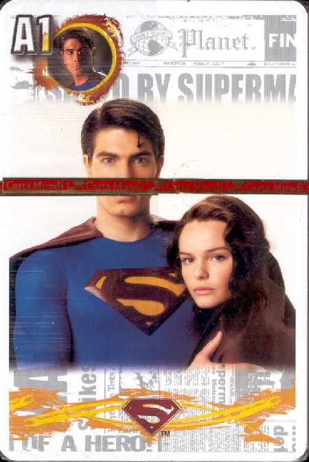 SUPERMAN RETURNS CARDS