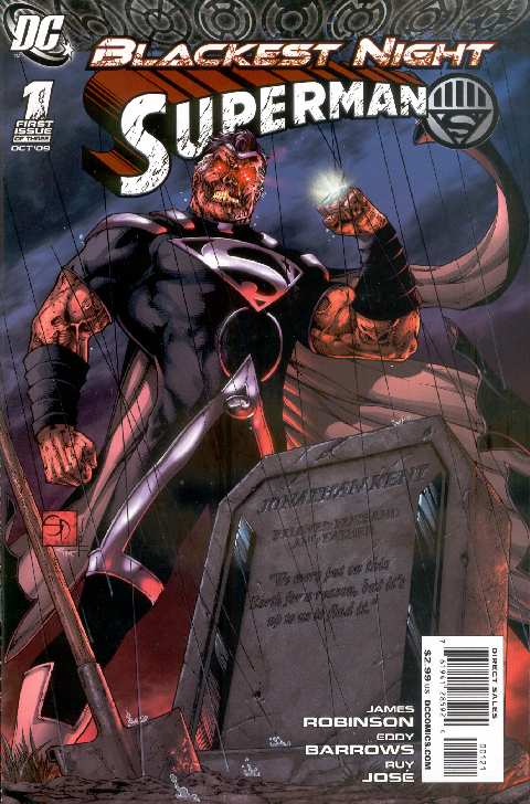 BLACKEST NIGHT SUPERMAN #1