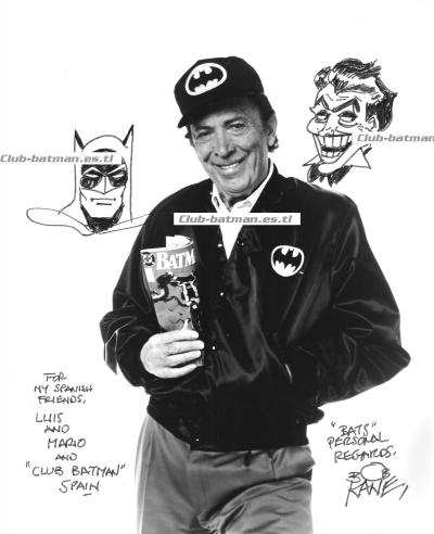 CLUB BATMAN. BOB KANE