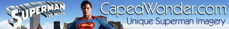 CAPEDWONDER SUPERMAN IMAGERY