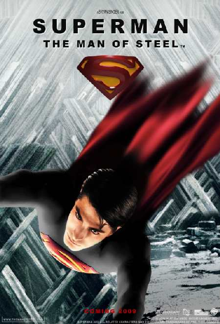 CARTEL IMAGINARIO DE SECUELA DE SUPERMAN RETURNS