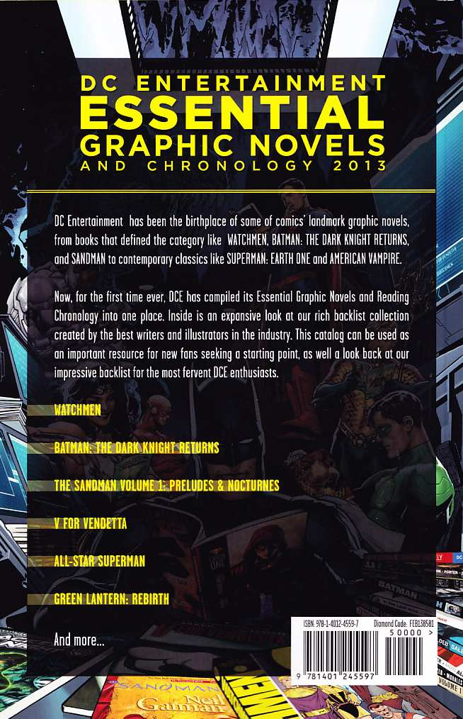 DC ESSENTIAL GRAPHIC NOVELS