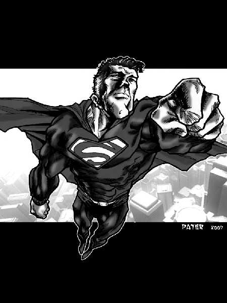 SUPERMAN BY PATE