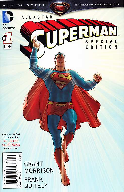 FREE COMIC AUGUST 2013