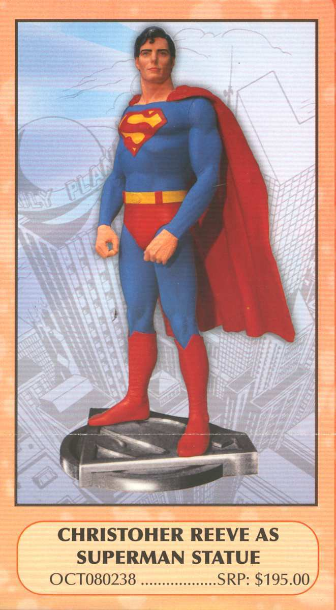 SUPERMAN ESTATUA