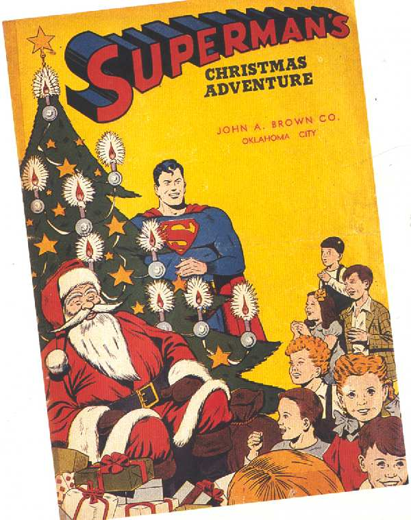 SUPERMAN'S CHRISTMAS ADVENTURE 1944 IN HARRY MATETSKY'S BOOK