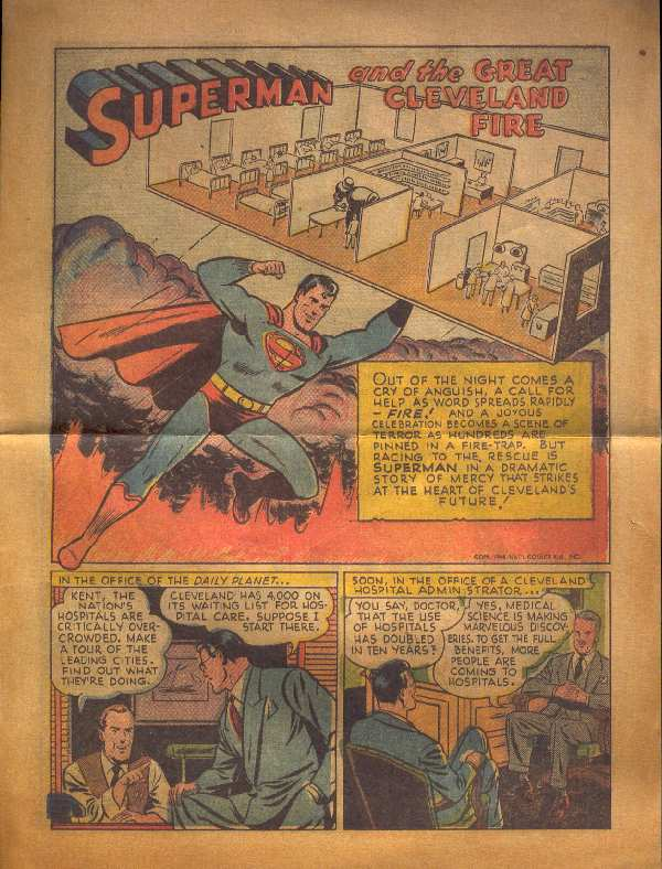 SUPERMAN AND THE GREAT CLEVELAND FIRE