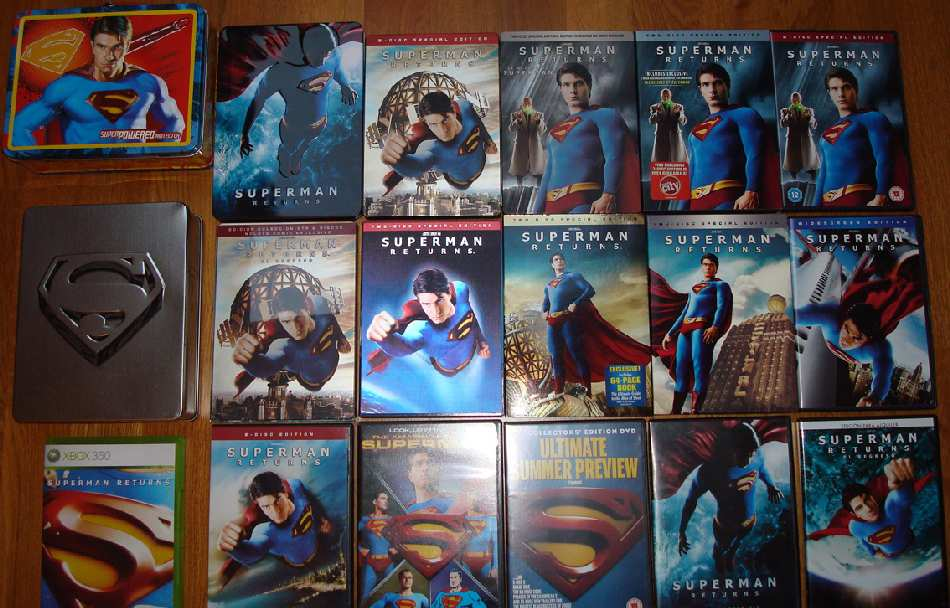 SUPERMAN RETURNS COLLECTION