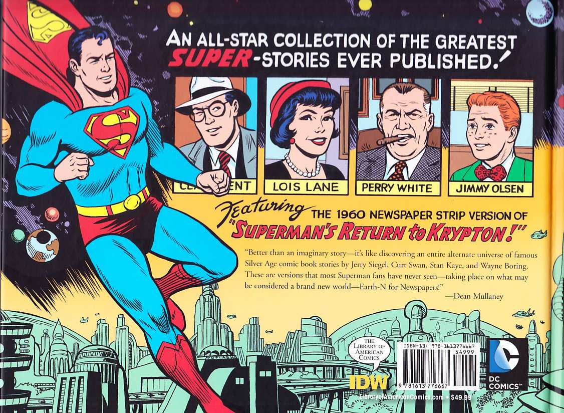 SUPERMAN THE SILVER AGE DAILIES