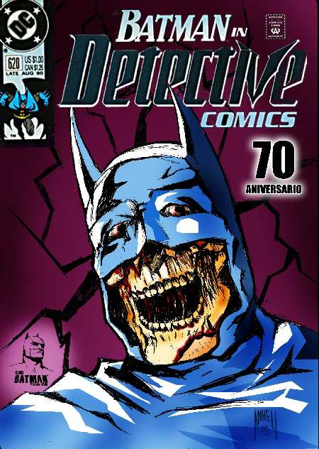 DETECTIVE COMICS #620 VERSION