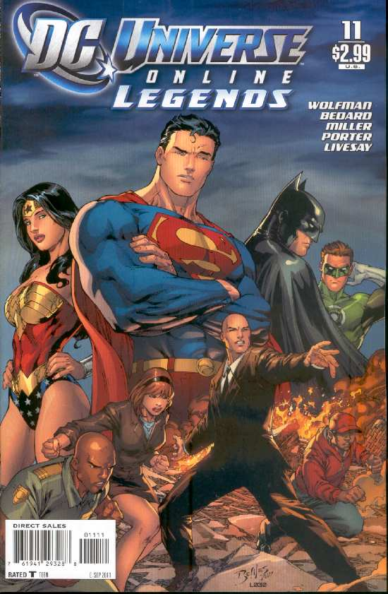 DC UNIVERSE ON LINE LEGENDS 11
