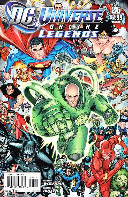 DC UNIVERSE ON LINE #25