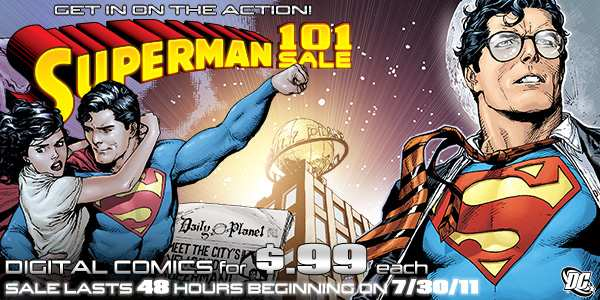 SUPERMAN DIGITAL COMICS