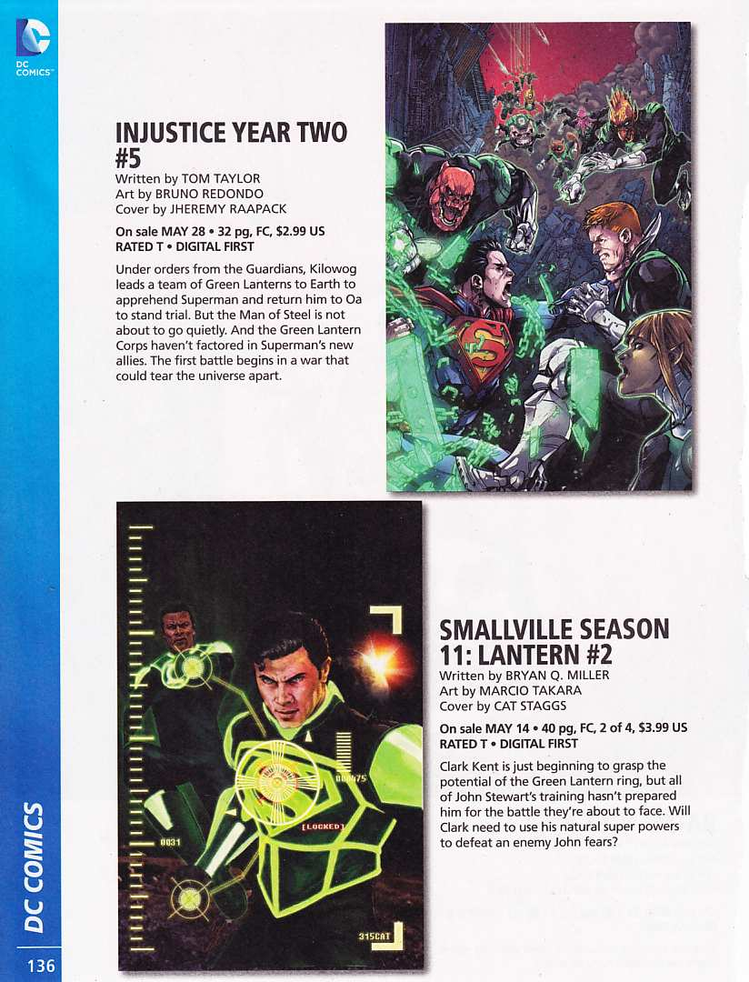 PREVIEWS MARZO 2014 SUPERMAN