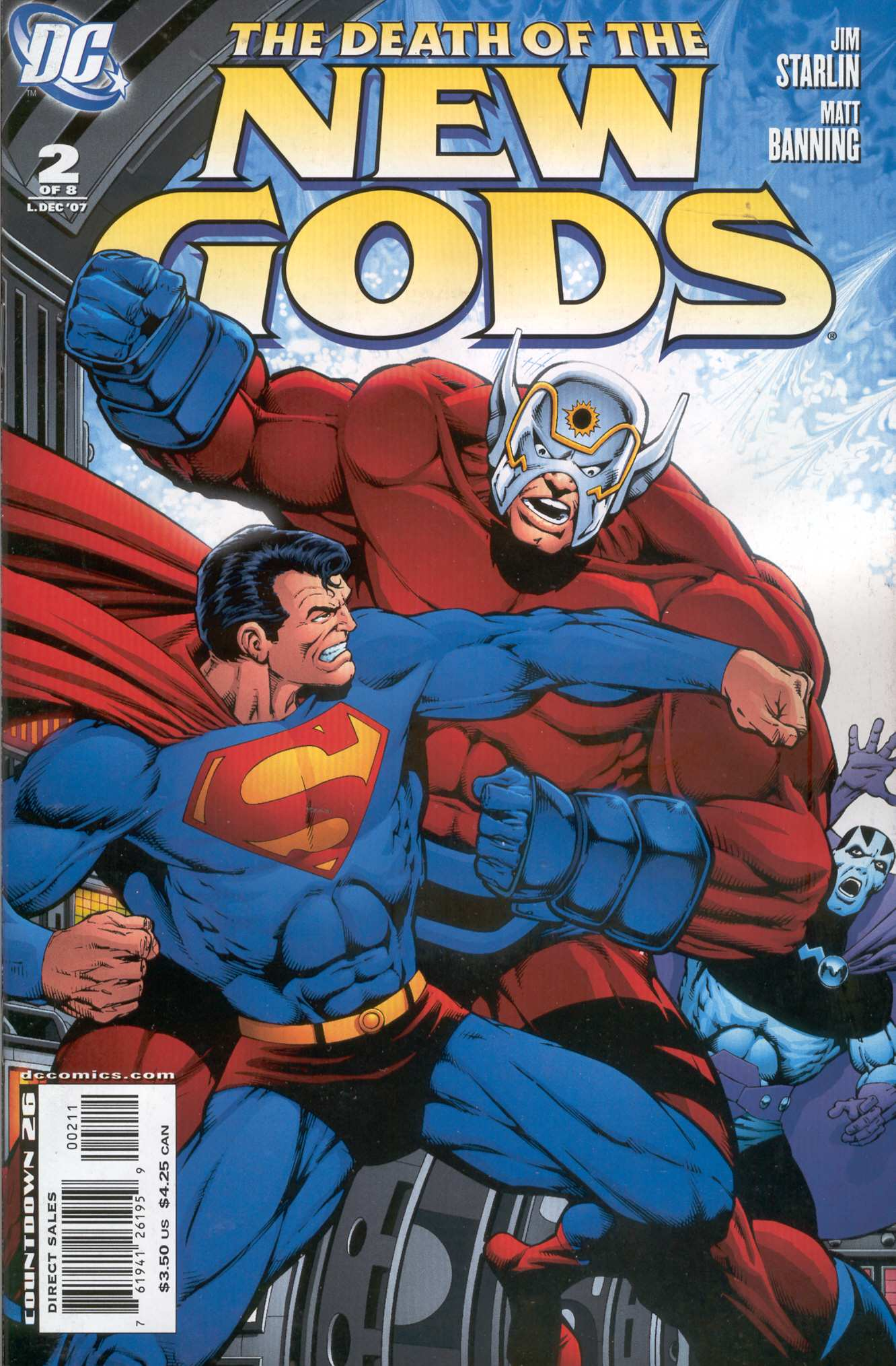 THE DEATH OF THE NEW GODS #2