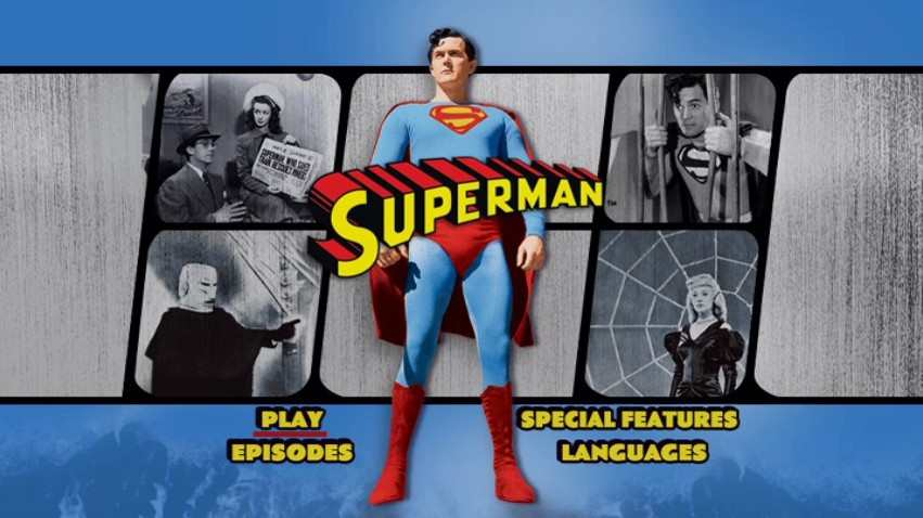 SUPERMAN SERIAL KIRK ALYN