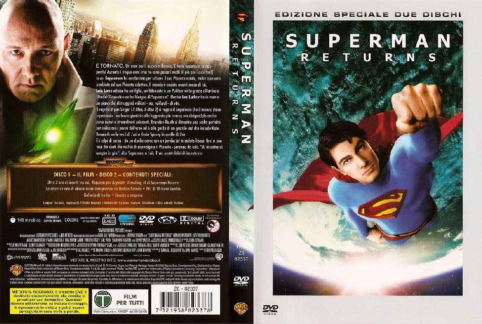 SUPERMAN RETURNS EN ITALIA