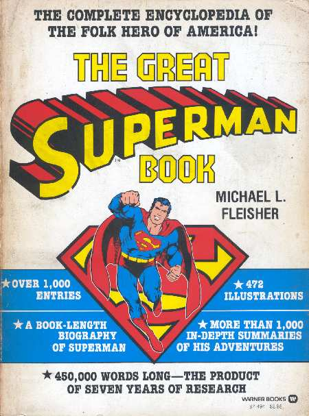 SUPERMAN ENCICLOPEDIA 1978