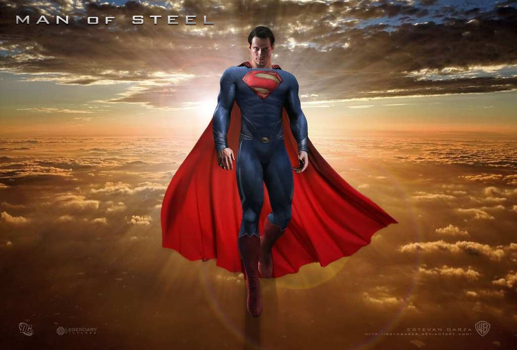 MAN OF STEEL FAN ART