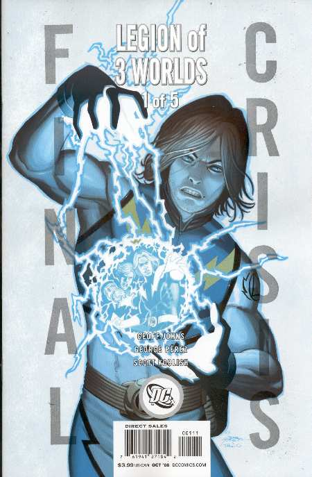 FINAL CRISIS LEGION OF 3 WORLDS #1