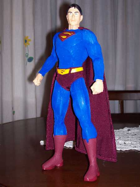 SUPERMAN RETURNS FIGURE