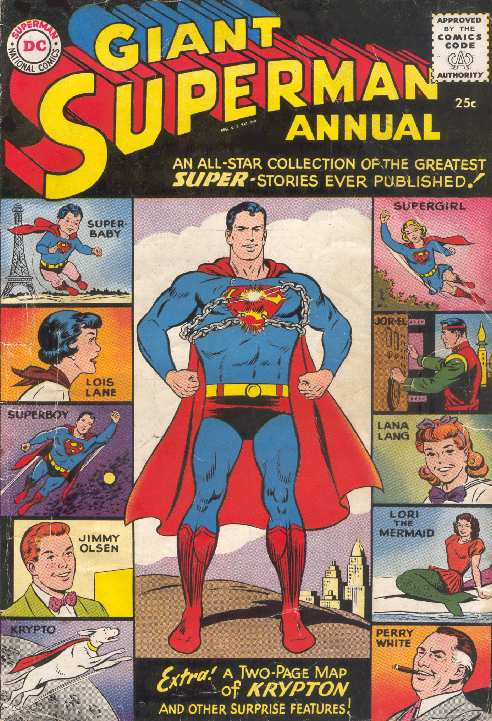 GIANT SUPERMAN ANNUAL #1