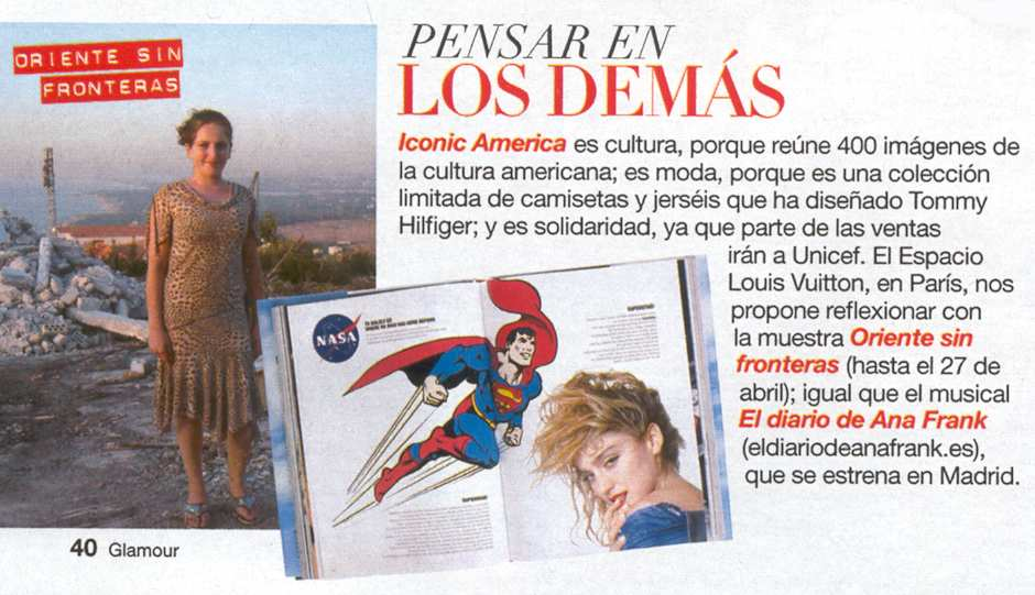 SUPERMAN EN GLAMOUR
