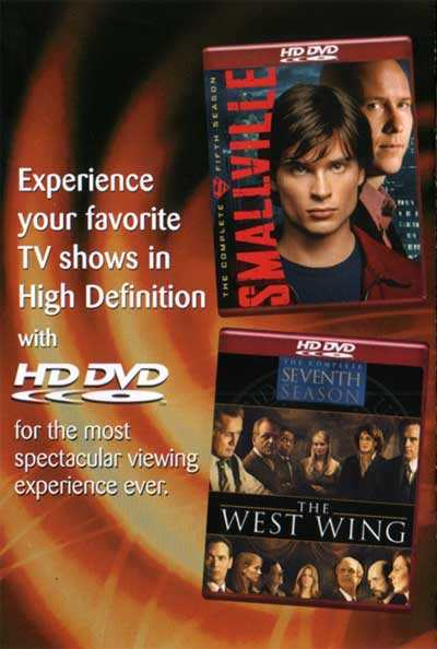 SMALLVILLE EN HD DVD