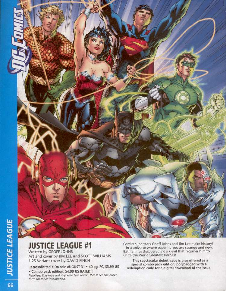 JUSTICE LEAGUE #1 (PREVIEWS)