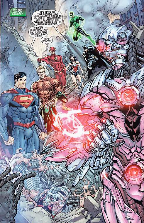 JUSTICE LEAGUE N52