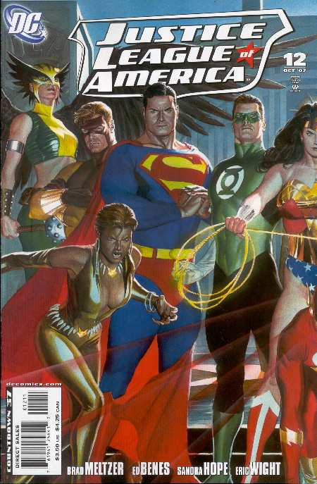 JLA 12 COVER BY ALEX ROSS