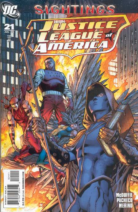 JUSTICE LEAGUE OF AMERICA #21