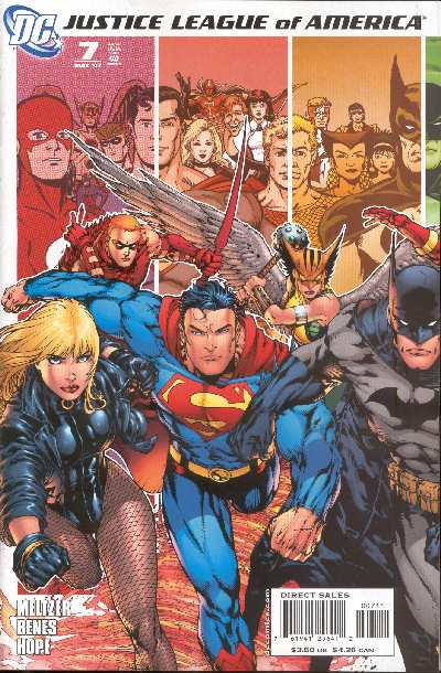 JUSTICE LEAGUE OF AMERICA 7