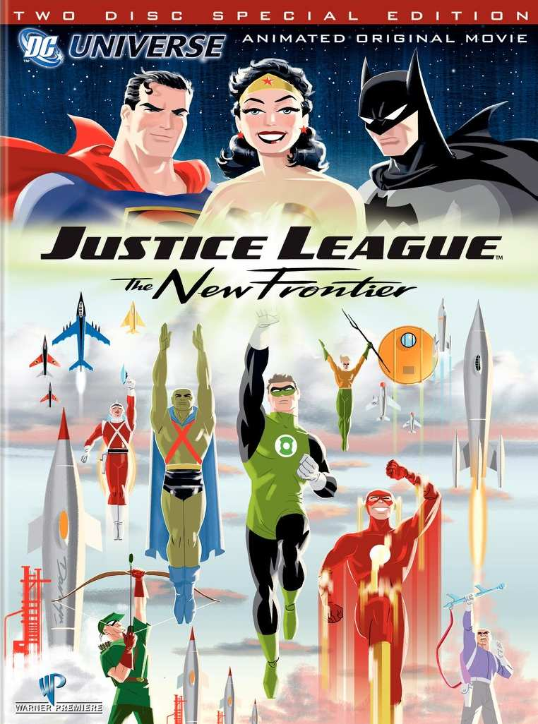 JLA THE NEW FRONTIR