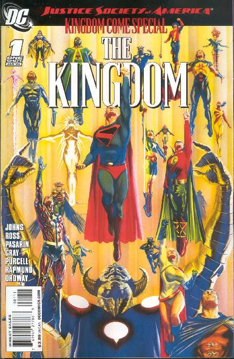 JSA THE KINGDOM #1